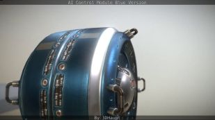 AI Control Module Blue Version by 3dhaupt0502