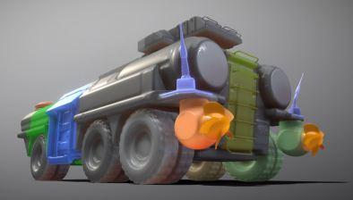 Amphibious Tank 3d-printable by 3DHaupt (5)