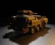 Amphibious Tank in Blender 2.8 (7)