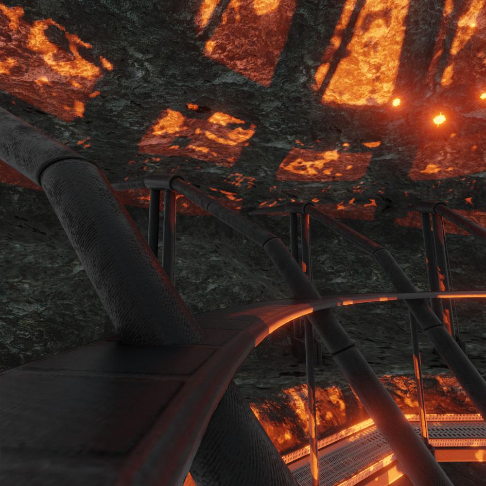Geothermal Steam Factory Blender 28 Eevee by 3dhaupt 7