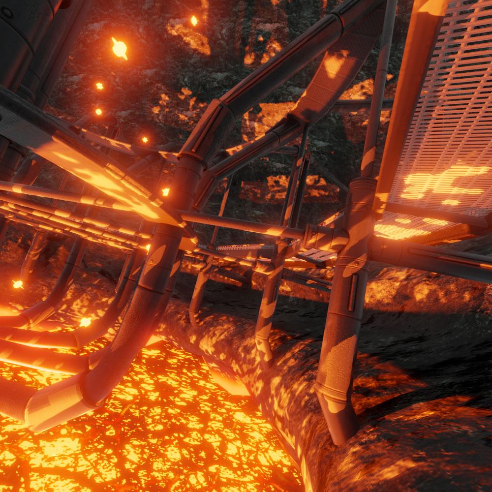 Geothermal Steam Factory Blender 28 Eevee by 3dhaupt 8