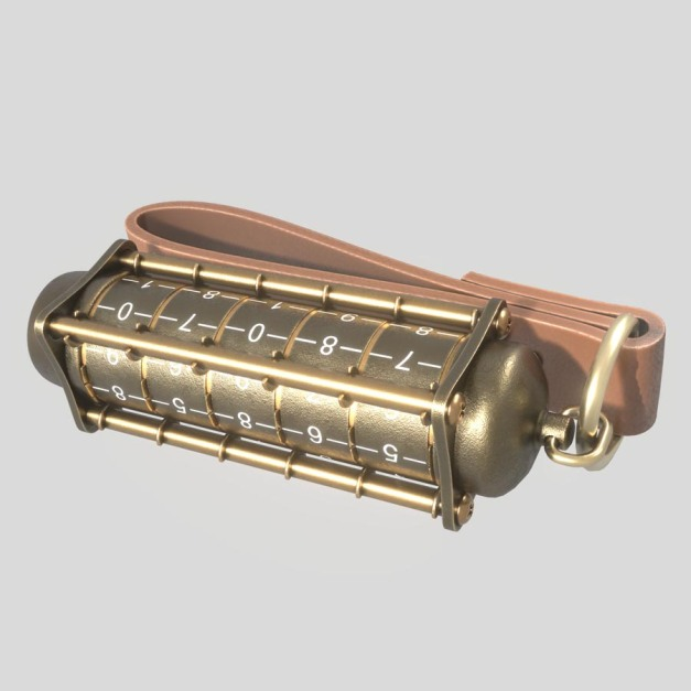 Cryptex USB-Stick-Rigged Blender 2.8 Version (by 3DHaupt) (1)