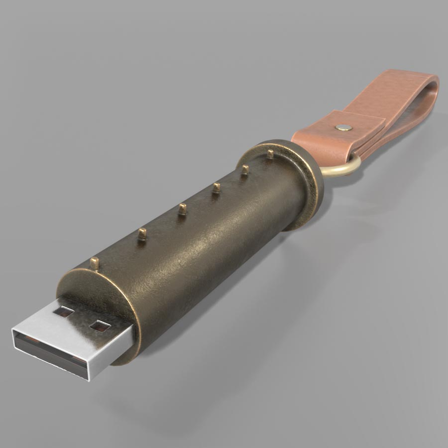 cryptex-usb-stick-rigged-blender-2.8-version-by-3dhaupt