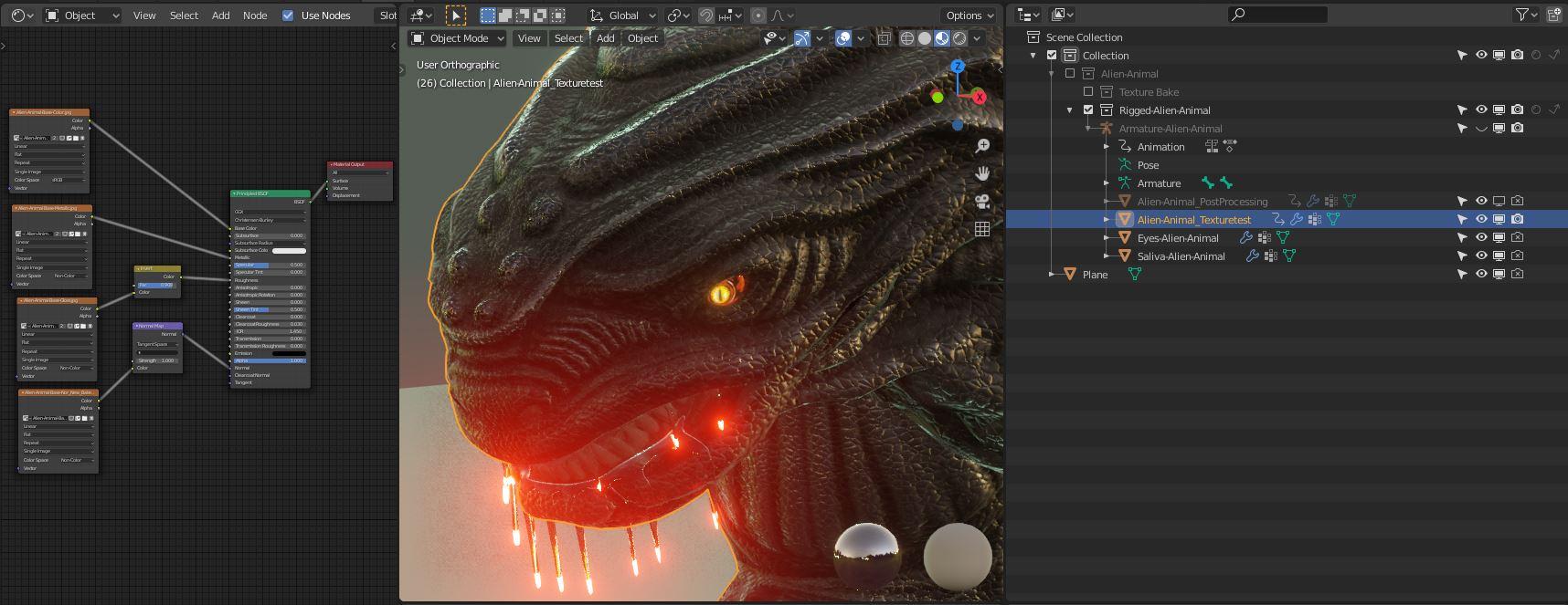 Object-Alien-Animal_Texturetest_2