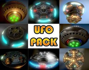 ufo-pack-modeled-and-textured-by-3dhaupt-in-Blender-2.79b-textured-in-3dcoat